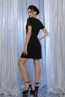 синее платье с пайетками. Платье Ираида к/р. Колір: черный-бронза в интернет-магазине