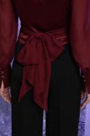 белая блузка с бантом. блуза Аврил д/р. Цвет: бордо в Украине