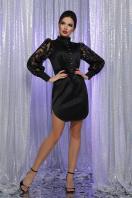 красное атласное платье. платье Киприда д/р. Цвет: черный купить