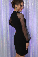 . Платье Маргарет д/р. Цвет: черный в интернет-магазине