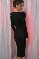 черное платье с глубоким вырезом. платье Солли д/р. Цвет: черный в интернет-магазине