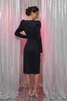 черное платье с глубоким вырезом. платье Солли д/р. Цвет: синий цена