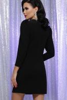 короткое платье с люрексом. платье Нила 3/4. Цвет: черный-черный в интернет-магазине