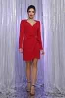 блестящее красное платье. Платье Николь-1 д/р. Цвет: красный купить