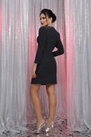 короткое платье с люрексом. платье Нила 3/4. Цвет: черный-синий в Украине