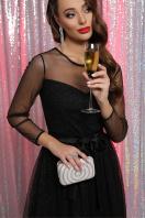 . Платье Маулина д/р. Цвет: черный в интернет-магазине