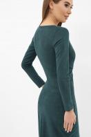 . платье Этери д/р. Цвет: изумруд в интернет-магазине