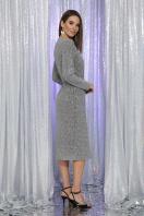 . Платье Залина д/р. Цвет: серый в интернет-магазине