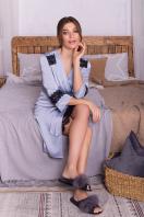 . Халат Неада д/р. Цвет: серо-голубой купить