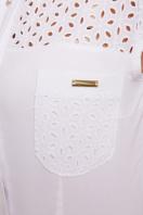 белая летняя блузка с коротким рукавом. блуза Фауста к/р. Цвет: белый в интернет-магазине