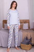 пижама с брюками для сна. Пижама Амаль. Цвет: голубой-Микки Маус купить