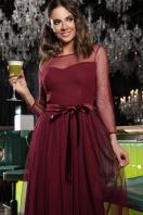 . Платье Маулина д/р. Цвет: бордо купить
