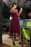 . Платье Маулина д/р. Цвет: бордо цена
