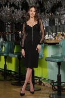 . Платье Велия д/р. Цвет: черный купить