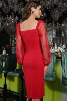 . Платье Велия д/р. Цвет: красный купить