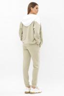 розовый спортивный костюм. Костюм Пэм. Цвет: оливка-белая отд. цена