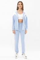 бирюзовый спортивный костюм. Костюм Пэм. Цвет: голубой-белая отд. купить