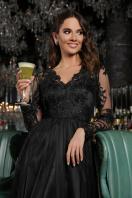 черное платье с вышивкой. Платье Марита д/р. Цвет: черный в интернет-магазине