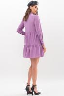 . Платье Наваль д/р. Цвет: сирень-точка черная цена