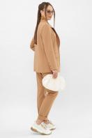 офисный пиджак цвета фуксии. Пиджак Сабера д/р. Цвет: бежевый в интернет-магазине