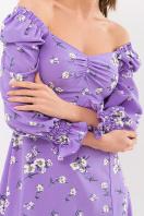 . Платье Пала д/р. Цвет: сиреневый-белый букет в Украине