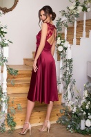 вечернее бордовое платье. Платье Пайпер б/р. Цвет: бордовый в интернет-магазине