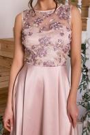 вечернее бордовое платье. Платье Пайпер б/р. Цвет: бежевый в Украине