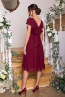 нежное платье на выпускной. Платье Рузи б/р. Цвет: бордо цена