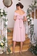 нежное платье на выпускной. Платье Рузи б/р. Цвет: пудра цена