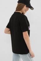 . 6047 Футболка VR-Y. Цвет: черный в интернет-магазине