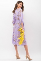 . Платье Сауле 3/4. Цвет: лавандовый-ветка купить