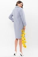 . Пальто П-347-100. Цвет: 2903-серо-голубой в интернет-магазине