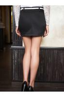 белая юбка с карманами. юбка мод. №4. Цвет: черный купить