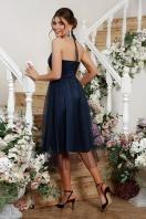 синее платье миди. Платье Джена б/р. Цвет: синий цена
