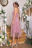 синее платье миди. Платье Джена б/р. Цвет: лиловый цена