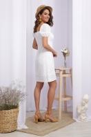 белое мини платье. Платье Бажена к/р. Цвет: белый 1 в интернет-магазине