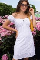белое мини платье. Платье Бажена к/р. Цвет: белый 1 в Украине