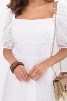 белое платье из прошвы. Платье Коста к/р. Цвет: белый в интернет-магазине