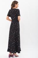 платье хаки в горошек. Платье Румия к/р. Цвет: черный-горох цветной в интернет-магазине