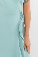 . Платье Румия-1 к/р. Цвет: нефритовый в интернет-магазине