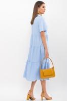 . Платье Иветта к/р. Цвет: голубой в интернет-магазине