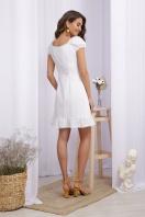 белое платье из хлопка. Платье Ожена к/р. Цвет: белый в интернет-магазине