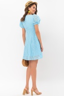 . Платье Эдна к/р. Цвет: голубой цена
