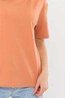 . Футболка Фризэ к/р. Цвет: розовая карамель в интернет-магазине