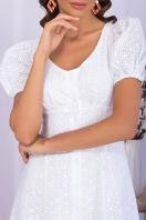 . Платье Эдна к/р. Цвет: белый 1 в интернет-магазине