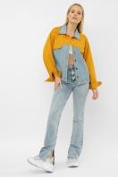 . 106 Куртка VE. Цвет: горчица в интернет-магазине