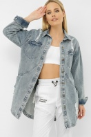 . 107 AST Куртка VА. Цвет: джинс цена