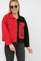 . 211890 AST Куртка VА. Цвет: черный-красный в интернет-магазине