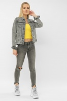 . 2085 Куртка VO-D. Цвет: св. серый купить
