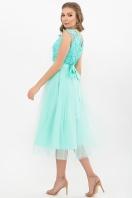 пышное платье миди. Платье Джуди б/р. Цвет: ментол цена